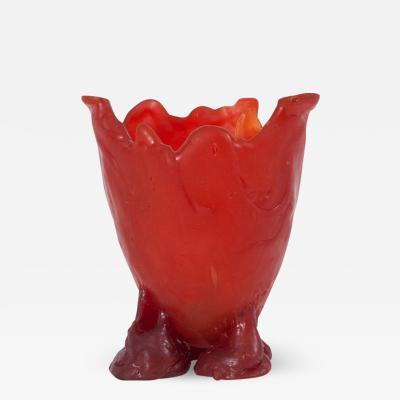 Gaetano Pesce Gaetano Pesce Bright Red Resin Vase 1996