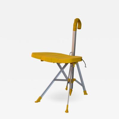 Gaetano Pesce Gaetano Pesce Umbrella Chair Folding and Transportable Yellow