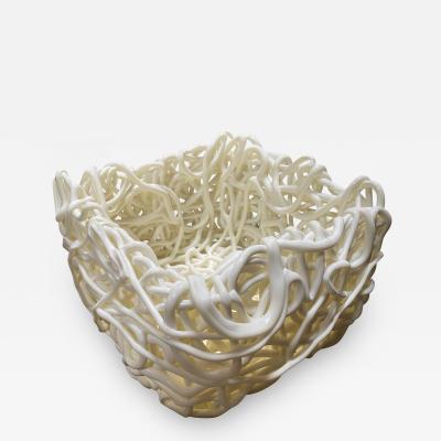 Gaetano Pesce Senzafine Soft Resin Basket by Gateano Pesce
