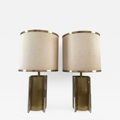 Gaetano Sciolari 1970s Pair of Table Lamps by Sciolari Roma