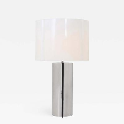 Gaetano Sciolari Gaetano Sciolari Chrome Table Lamp 1970s