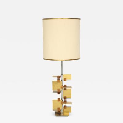 Gaetano Sciolari Rare System Series Table Lamp by Sciolari