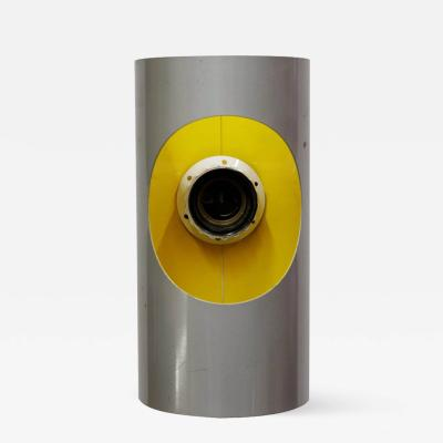 Gaetano Sciolari Sciolari 1970s Sconce in Grey and Yellow