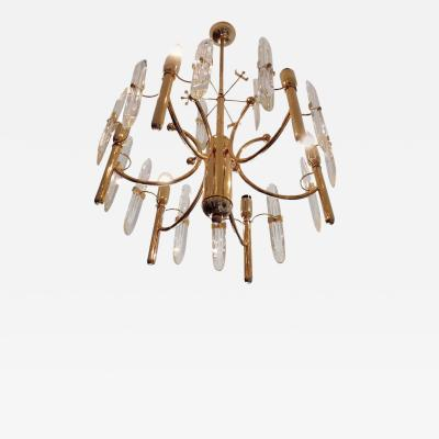 Gaetano Sciolari Sciolari Chandelier with Six Lights 1970