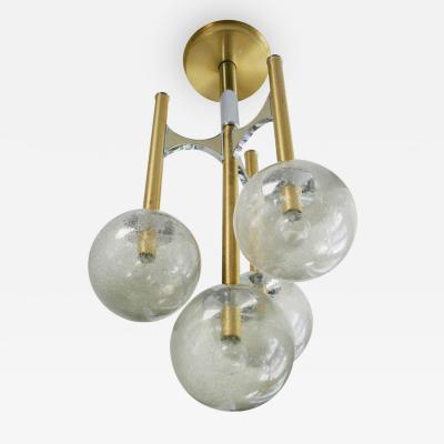 Gaetano Sciolari Sciolari Four Globe Pendant