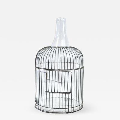 Gala Fern ndez Montero TRANSPARENT CAGE BOTTLE