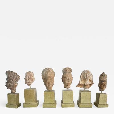 Gandharan Miniature Busts