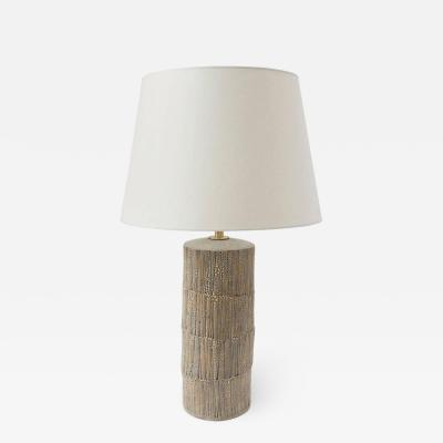 Gary DiPasquale Ceramic Shagreen Table Lamp
