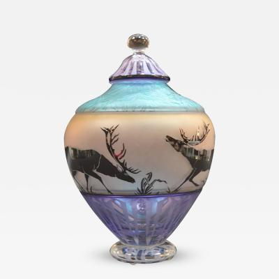 Gary Genetti Modern Glass Jar by Gary Genetti