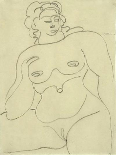 Gaston Lachaise Female Nude