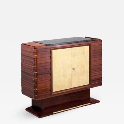 Gaston Poisson Mahogany dresser by Gaston POISSON XXth c