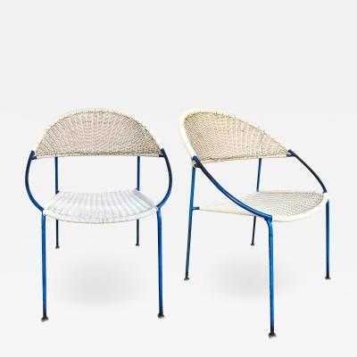 Gastone Rinaldi 10 Chairs model DU41 by Gastone Rinaldi for RIMA Italy 1956