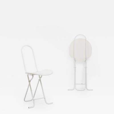 Gastone Rinaldi Gastone Rinaldi Dafne fold up chairs Thema Italy 1979 Two available