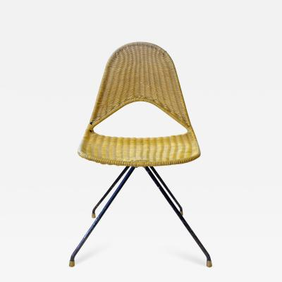 Gastone Rinaldi Gastone Rinaldi Mid Century Modern Rare du68 Yellow chair for Rima 1958