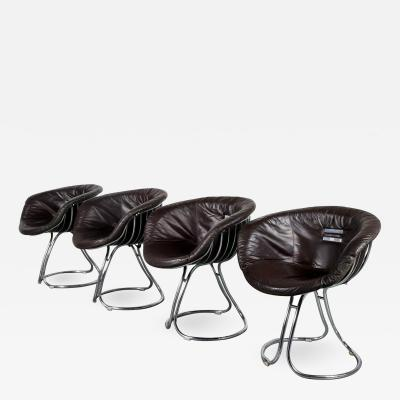 Gastone Rinaldi Gastone Rinaldi Pan Am Chairs for Rima Italy 1960
