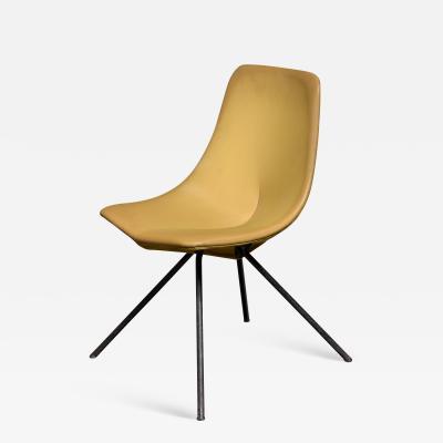 Gastone Rinaldi Rare Gastone Rinaldi DU 30 Chair for RIMA 1950s