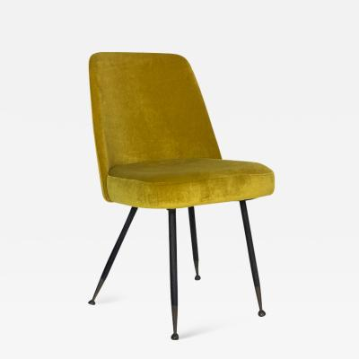 Gastone Rinaldi Velvet Desk Chair for Rima
