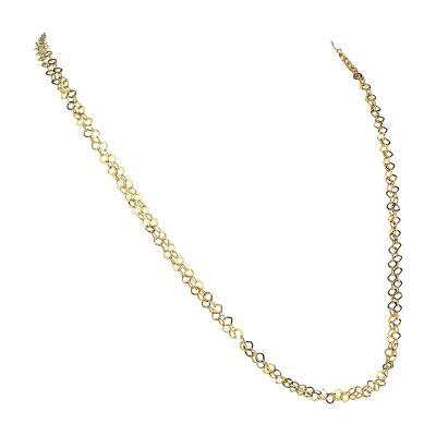 Gemjunky 40 Inch 14K Yellow Gold Sparkling Chain