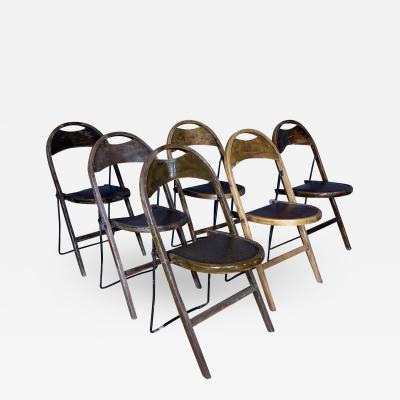 Gemla 1930s Swedish Camp Folding Chairs by Gemla M bler