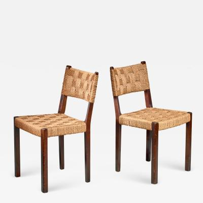 Gemla Pair of Gemla chairs Sweden 1930s