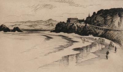 Gene Alice Geneva Glasier Kloss The Cliff House San Francisco