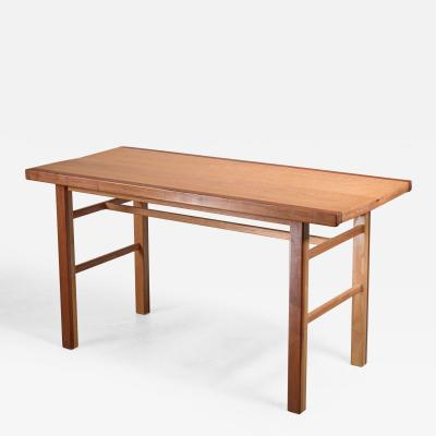 Gene Caples Gene Caples Walnut and Oak console Table USA 1960s