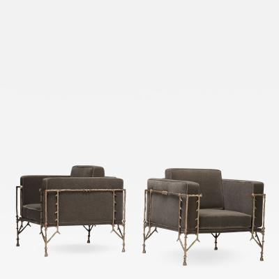 Gene Summers Gene Summers F37 lounge chairs pair