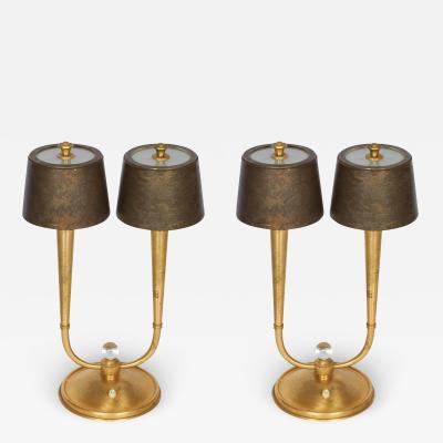 Genet et Michon Pair of Table Lamps by Genet et Michon