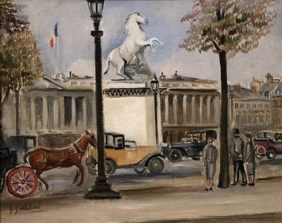 Genevieve Gallibert Champs lys es Paris