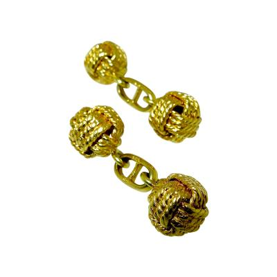 Gentlemans Gold Cufflinks