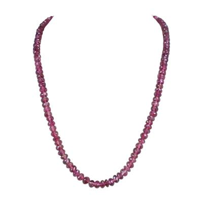 Genuine Natural Large Pink Tourmaline Faceted Beads