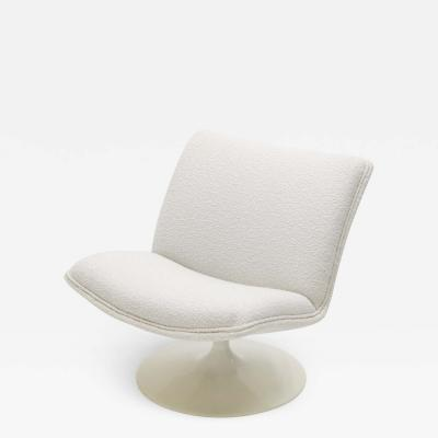 Geoffery Harcourt Geoffrey Harcourt for Artifort F504 swivel lounge chair boucl 1960s