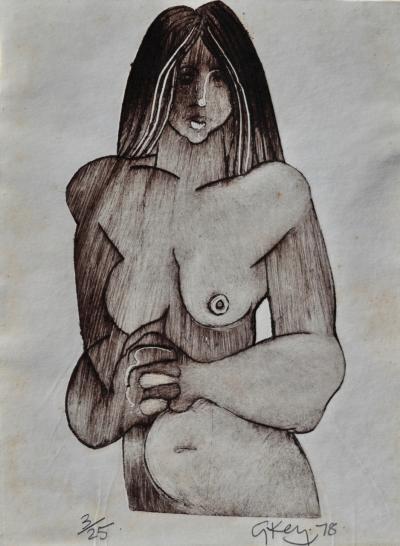 Geoffrey Key Nude Study