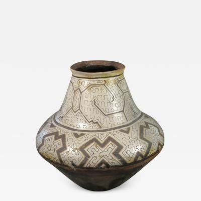 Geometric Shibipo Pot