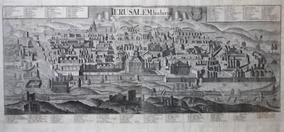 Georg Balthasar Probst Jerusalem Hodierna