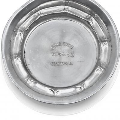 Georg Jensen Early Antique Georg Jensen Art Nouveau Silver Bowl 3
