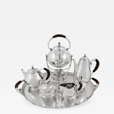 Georg Jensen Exceptional Georg Jensen Cosmos Tea Coffee Service 45