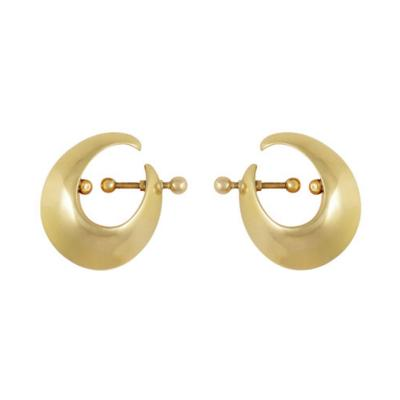 Georg Jensen GEORG JENSEN GOLD DITZEL EARRINGS 378