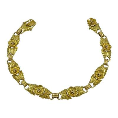 Georg Jensen Georg Jensen 14Kt Gold Bracelet No 251