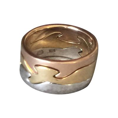 Georg Jensen Georg Jensen 18KT Gold Fusion Ring by Nina Koppel