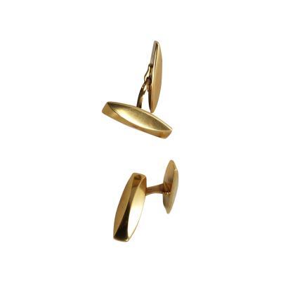 Georg Jensen Georg Jensen 18kt Gold cufflinks design number 1090