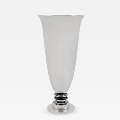 Georg Jensen Georg Jensen Art Deco Vase 676