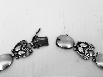 Georg Jensen Georg Jensen Bittersweet Necklace Bracelet 94B by Gundorph Albertus
