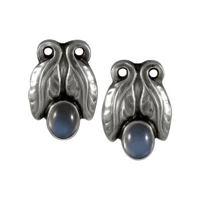 Georg Jensen Georg Jensen Earrings No 108 with Moonstones