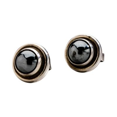 Georg Jensen Georg Jensen Earrings No 8 with Hematite