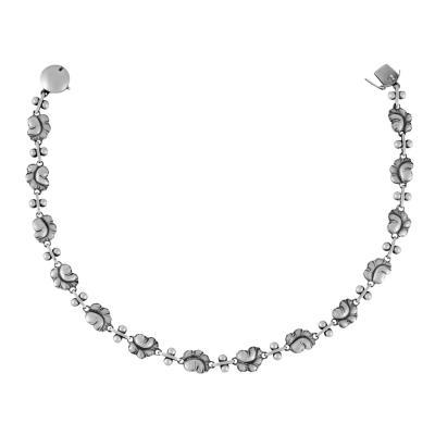 Georg Jensen Georg Jensen Grapes Necklace 96A by Harald Nielsen