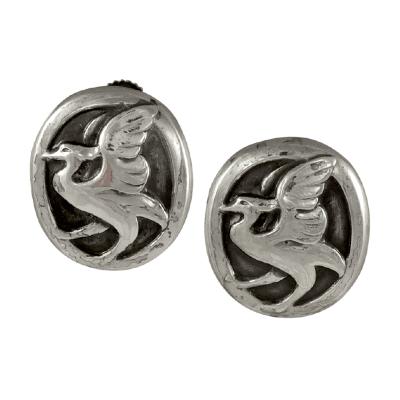 Georg Jensen Georg Jensen Silver Earrings No 65