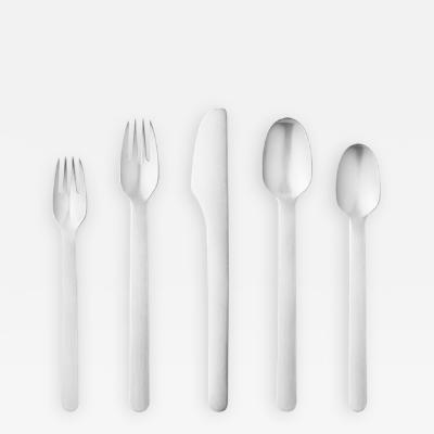 Georg Jensen Georg Jensen Stainless Flatware Louise Campbell