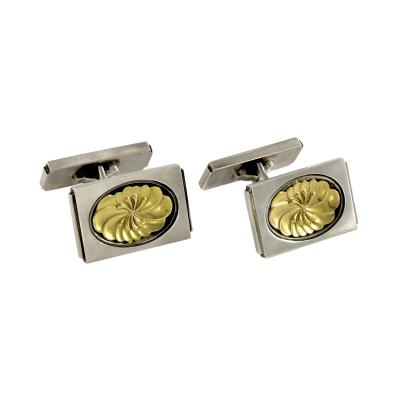 Georg Jensen Georg Jensen Sterling Gold Cufflinks No 59A