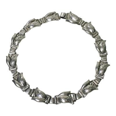Georg Jensen Georg Jensen Sterling Necklace C 1940